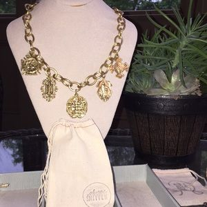 Awesome coin statement necklace.  Fun and chunky